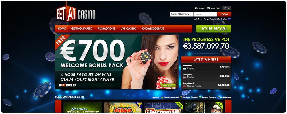 Visit BetAt Casino
