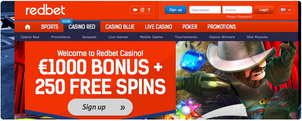 Click to visit RedBet Casino!